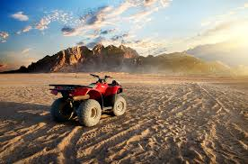 Quady na pustyni Sharm El-Shiekh